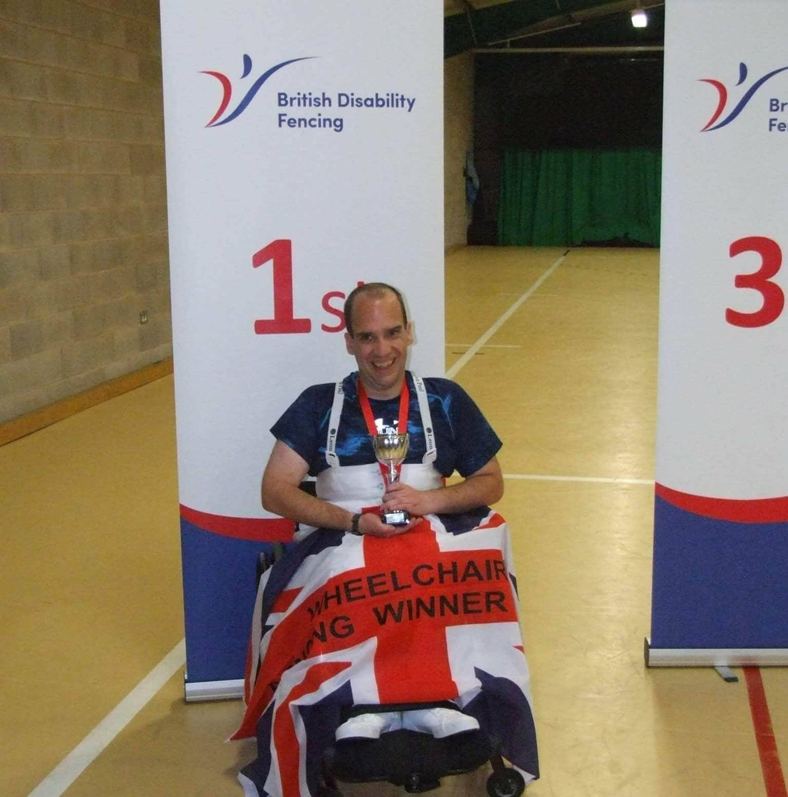 Five questions to Wheelchair Fencer Jonathan Collins, UK
