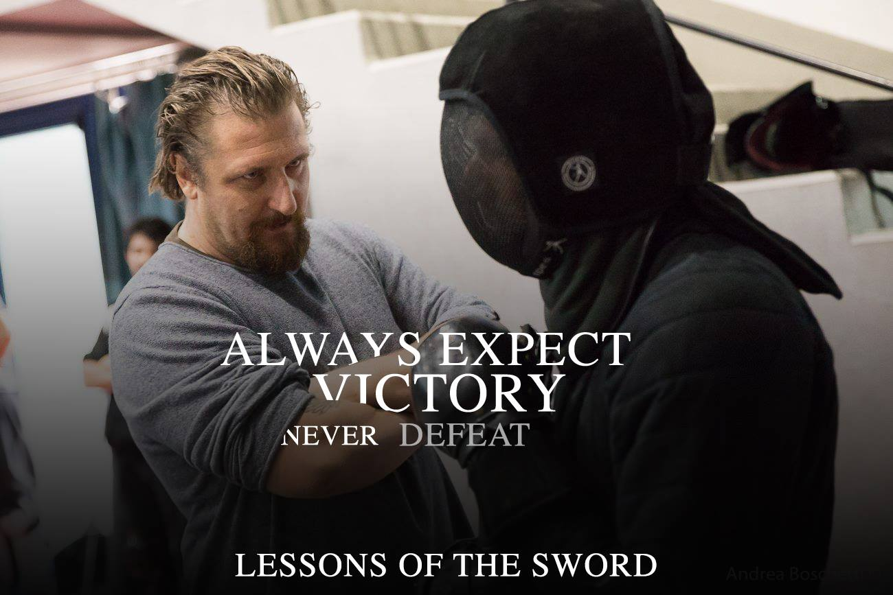 Lessons of the sword: Expect Victory never Defeat