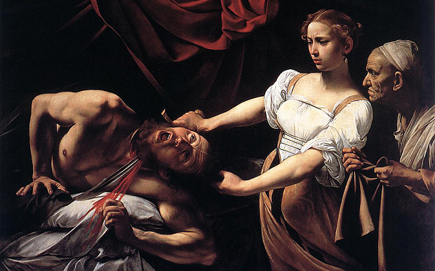 Caravaggio—With sword or brush